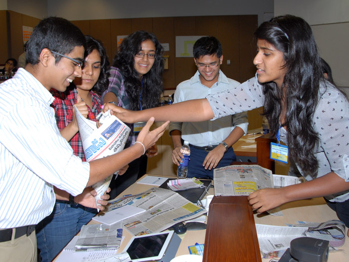 Student Team in Hyderabad, India