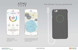 Team Product Innovation Product Rendering for Atmocase.